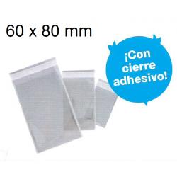 BOLSAS CIERRE ADHESIVO 60X80 POLIPROPILENO