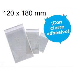 BOLSAS CIERRE ADHESIVO 60X180 POLIPROPILENO
