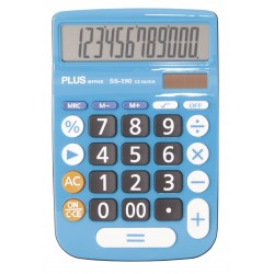 CALCULADORA PLUS SS-190 (3 CO L.)