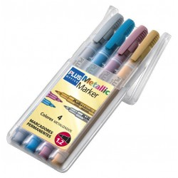 ROTULADOR PLUS METALLIC MARKER