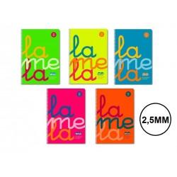 BLOC LAMELA PLASTIC C 2,5 SURTIDO