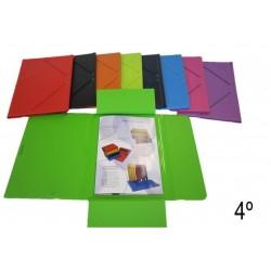 CARPETA SARO CUARTO SOLAPA PVC COLOR