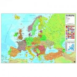 MAPA EUROPA FISICO POLITICO 61X91,5