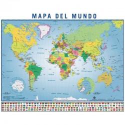 MAPA ESPAÑA POSTER 40X50CM