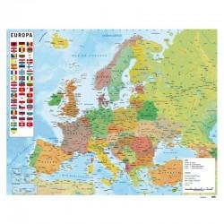 MAPA EUROPA POSTER 40X50CM