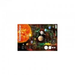 LÁMINA SISTEMA SOLAR 40X59,5CM