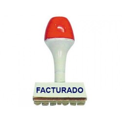 Sello Comercial: FACTURADO