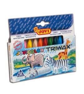 Ceras Jovicolor Triwax 12 colores