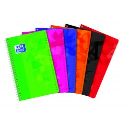 CUADERNO OXFORD INDICE 11x17 50H TAPA PLAST.