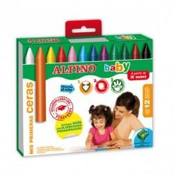 Ceras Alpino Baby caja 12 unds