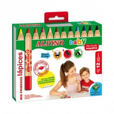Lapiceros Baby-Alpino caja 12 unds