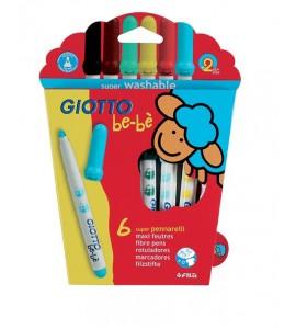 Giotto Bebè Rotulador 6 Colores