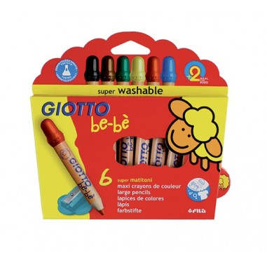 Giotto Bebè Lapices 6 Colores