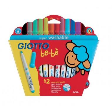 Bebe Rotulador Giotto 12 Colores