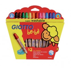 Bebe Lapices Giotto 12 Colores