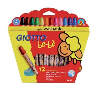Bebe Lapices Giotto 12 Colores