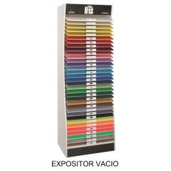 EXPOSITOR CARTULINAS GUARRO VACÍO 50x65cm