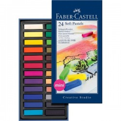 PASTEL BARRA FABER CASTELL MINI 24 COLORES