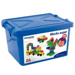 JUEGO EDUCATIVO MINILAND S.BLOCKS 18CM/96P