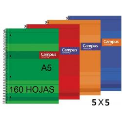 BLOC A5 CAMPUS 160H T/FORRADA 4X4 P/5