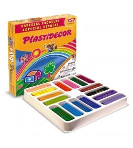Plastidecor BIC KIDS caja 352 ceras