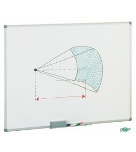 Pizarra Blanca marco aluminio 100X150cm
