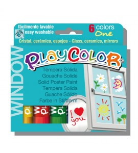 Playcolor Window Estuche 6 colores surtidos