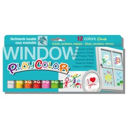 Playcolor Window Estuche 12 colores surtidos