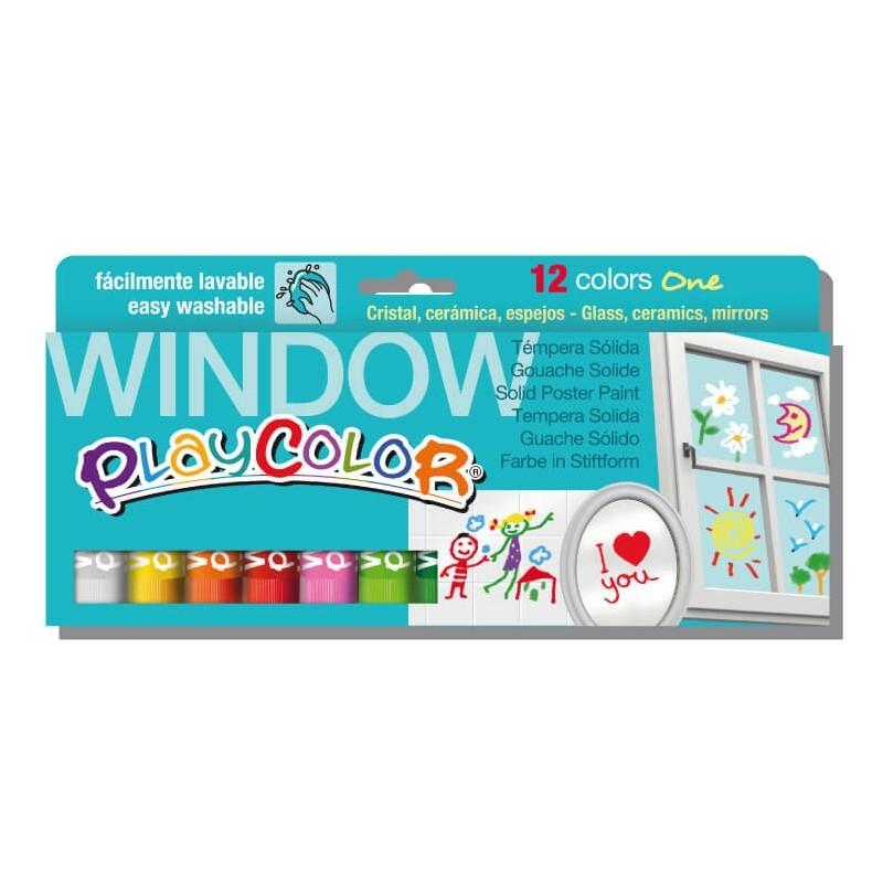 Playcolor Window Estuche 12 colores surtidos
