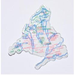 Juego Plantilla Mapa Europa