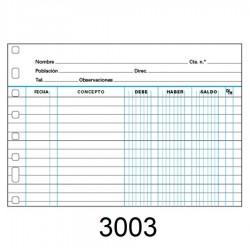 RECAMBIO MULTIFIN 3003 CTAS.CORRIENTES 4º