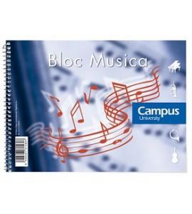 Bloc Música Campus A5 Pentagrama Grande
