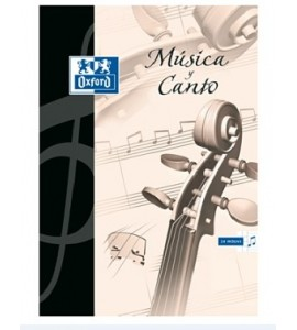 Cuaderno de Música y Canto Oxford
