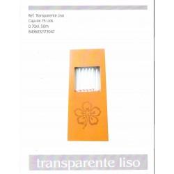 ROLLO CELOFAN TRANSP.LISO 70X150MM