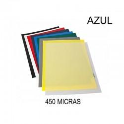 PORTADA A4 DHP 450 MICRAS AZUL