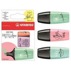 ROTULADOR STABILO BOSS MINI PASTEL