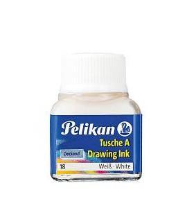 Tinta China Pelikan Blanco