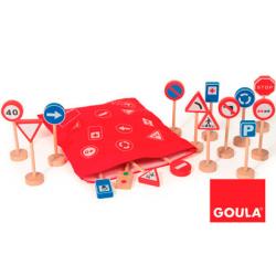 JUEGO EDUCATIVO GOULA SACO SEÑALES TRAFI