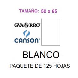 CARTULINA BLANCA 50X65