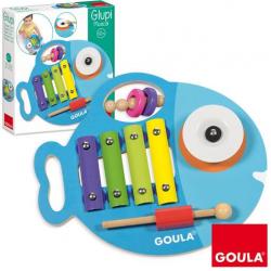JUEGO EDUCATIVO GOULA GLUPY MUSICAL 3EN1