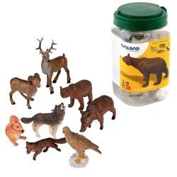 FIGURAS MINILAND ANIMALES BOSQUE/8UDS