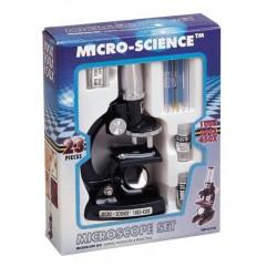 MICROSCOPIO 23PIEZAS 100X200X450
