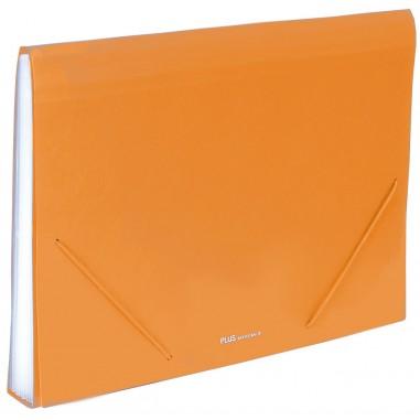 Carpeta clasificadora Plus Office A4 Roja 12 separadores