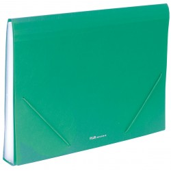 Carpeta clasificadora Plus Office A4 Naranja 12 separadores