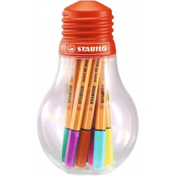 ROTULADOR STABILO MINI 88 12 COLORES