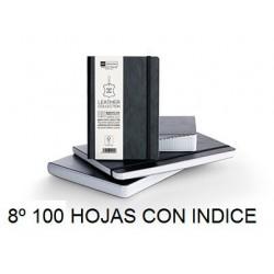 CUADERNO FLEX PIEL 8º 100H INDICE CUADRO
