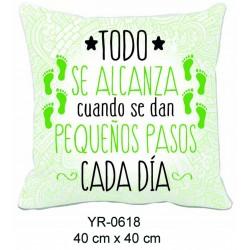 COJIN 40*40 TODO SE ALCANZA CUANDO SE DAN...