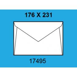 SOBRES 176X231 17495 C/250