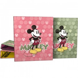 CARPETA A4 4AN. 25MM FANTASIA MICKEY CIRCULOS