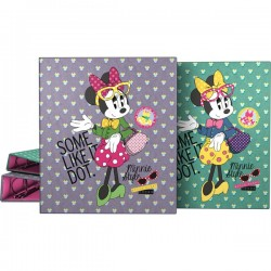 CARPETA A4 4AN. 25MM MINNIE DOTS